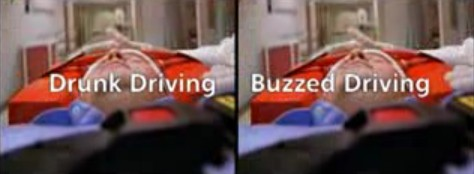 Buzzed Driving is...